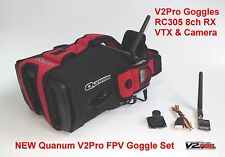NEW Quanum Upgraded V2Pro Goggles, 8ch Rx, VTX & Camera PNP set ready for FPV UK
