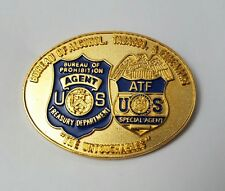 "Bureau of Alcohol, Tobacco & Firearms ""The Untouchables"" ATF Badge Lapel Pin"