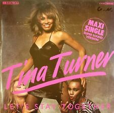 "12"" Maxi - Tina Turner - Let's Stay Together - B662 - washed & cleaned"