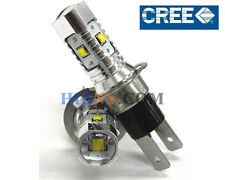 2x H3C 25W High Power CREE LED Foglight Day Time Running Lights Xenon White 360°