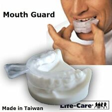 1 x NIGHT MOUTH GUARD GUM SHIELD TRAY FOR BRUXISM / TEETH GRINDING / Taiwan Made