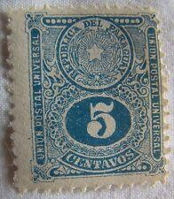 Uruguay Stamp 1910 Scott 193 A38  Very Clean