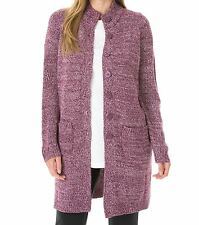 Woman Within Plus Size Boysenberry Pink Sweater Cardigan Size 4X(34/36)