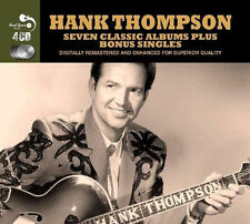 Hank Thompson SEVEN CLASSIC ALBUMS +SINGLES Dance Ranch BRAZO'S VALLEY New 4 CD