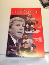 Florida Panthers 1994-95 Official NHL Media Guide-NEW