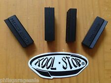 New Set of 4 Kool Stop Replacement Brake Pads Inserts For Campagnolo NR SR BLACK