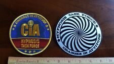 """2/CIA Hypnosis Task Force 4"""" Patches"""