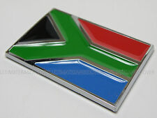 SOUTH AFRICAN CAR WALL BIKE TOOL BOX CHROME FLAG BADGE FRIDGE DOOR BOOK AFRICA