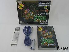 Zelda Four Swords + GBA Cable Japanese Import Gamecube GC 4 Tsurugi US Seller