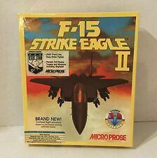 F-15 Strike Eagle II 2 Microprose Complete Floppy Disks 1990 Vintage PC Game