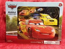 Disney Pixar Cars Lightning McQueen Board Jigsaw Puzzle 16pc New Sealed