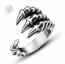 Dragon Claw ring 4 Fingers Talons Size 11