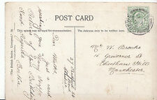 Genealogy Postcard - Family History - Brooks - Cheetham Hill - Manchester BH5456