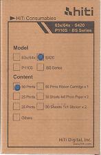 HITI - 4 pacchi Carta 10 x 15 - 200 Stampe per Hiti S420
