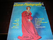 CHARM PHOTOGRAPHY MAGAZINE #4 1950'S VINTAGE GALMOUR PIN UP GIRLS PHOTOGRAPHY