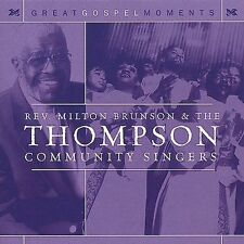 Brunson,Milton Rev.: Great Gospel Moments  Audio Cassette