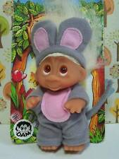 "1985 SQUEEK THE MOUSE - 3"" Dam Norfin Troll Doll Wildlife Series - NEW -Last One"