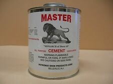 Master Shoe Repair Glue - Quart can with Brush in Can- Contact Cement -Shoe Glue