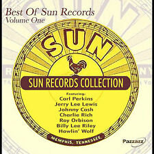 BEST OF SUN RECORDS-VOL 1-JOHNNY CASH/JERRY LEE LEWIS/CARL PERKINS-VG+