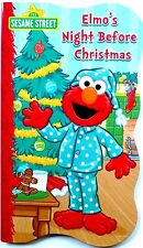 New Sesame Street Christmas BOARD BOOK ~ Elmo's Night Before Christmas
