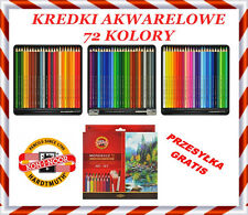 Kredki Akwarelowe Mondeluz Aquarell Watercolor Pencils 72 colors 3714 KOH-I-NOOR