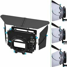FOTGA DP500 Mark III Swing-away Matte Box Sunshade for 15mm Rail Rod Rig A7S 5D