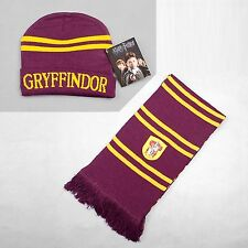 Harry Potter Gryffindor Sciarpa Foulard + Cappello set Cosplay ispessito