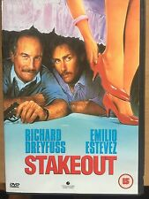 Emilio Estevez Richard Dreyfuss STAKEOUT ~ 1987 Action Comedy | UK DVD