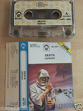 DEATH - Leprosy MC RARE POLISH PRESS 1990 MG