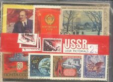 USSR NOYTA CCCP RUSSIA : 25 DIFFERENT ALL LARGE THEME WISE BEAUTIFUL STAMPS CTO