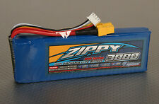 New Zippy 3000mAh 3S 11.1v 20C 30C Lipo Battery Pack XT60 XT-60 Flightmax USA