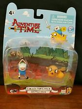 MOC Jazwares Cartoon Network ADVENTURE TIME Collector's BATTLE PACK Figures New