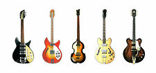 The Beatles' Guitars Greeting Card, DL size