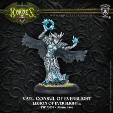 Warmachine Hordes BNIB - Legion of Everblight Epic Warlock Consul Vayl