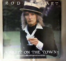 Rod Stewart A Night on The Town 1976 Excellent Vinyl Record & Inserts LP RVLP1