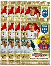 2017 Panini TOP TEAMS FIFA 365 Adrenalyn Soccer Cards.10 9-card Packs (90 Cards)