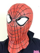 Superhero Spider Latex Mask Overhead Web Slinger Man Super Hero Fancy Dress