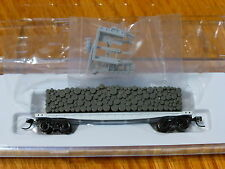 Atlas N #50001425 Undecorated - w/Open Ends (Pulpwood Flat Car) NEW