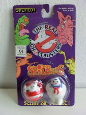 The Real Ghostbusters Spit Balls Marshmallow Ghost mosc nuevo en OVP 1984 Vintage