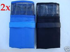 4 Fishing Lure Bag 2 Blue and 2 Black - 6 Pocket
