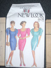 New Look 6638 Misses Dress Size 8 10 12 14 16 18 Party Bridesmaid