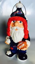 Buffalo Bills Christmas Tree Thematic Gnome Ornament Holiday New FREE SHIPPING