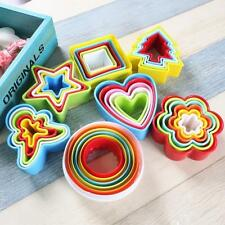 5-Diy Silicone Mold Fondant Cake Chocolate Decorating Baking Tools Mould Cookies