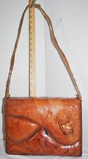 Large Genuine Alligator Purse Bag by Etco Florida Vintage