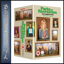 PARKS & RECREATION - COMPLETE SEASONS 1 2 3 4 5 6 & 7  **BRAND NEW DVD BOXSET***