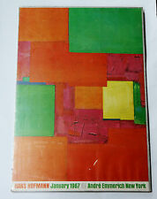 HANS HOFFMAN 1967 ANDRE EMMERICH NEW YORK GALLERY POSTER MODERNIST ABSTRACT