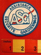 FOREIGN LANGUAGE PATCH (FOR ENGLISH SPEAKERS) ASSISTANCE SECURITE GARDIENNAGE