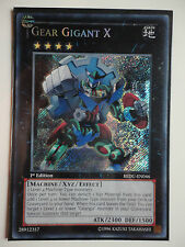 YU GI OH GEAR GIGANT X REDU-046 SECRET RARE 1.EDITION