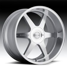 "20"" MRR MK1 STAGGERED WHEELS 5X120 SILVER RIM FITS BMW X5 X6"