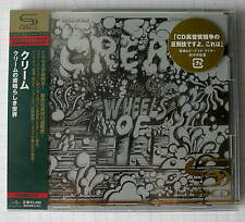 Cream-Wheels Of Fire GIAPPONE SHM 2cd OBI nuovo rar! UICY - 90750-1 Eric Clapton